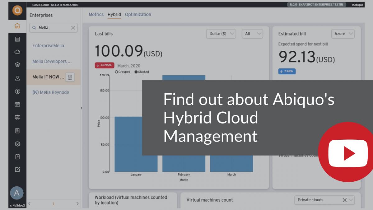 Find more about ABIQUO Hybrid Cloud Management